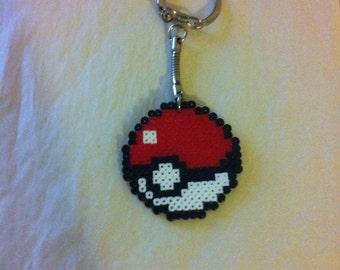 Door key Pokeball Pixel art / Perler Beads