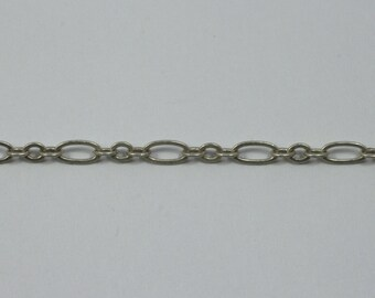 Antique Silver, 3mm & 6mm Oval Chain CC154