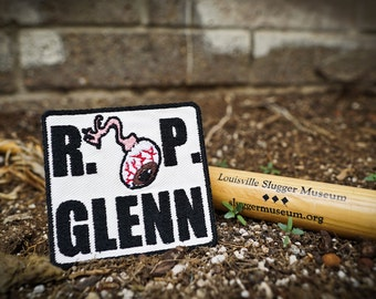 "RIP Glenn ""R. Eye. P."" The Walking Dead, Steven Yeun Patch"