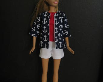 Barbie doll clothes-Anchors Aweigh