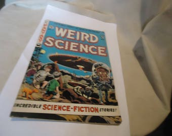 Vintage 1990 Weird Science Double Sized #2 Comic Book, collectable