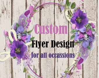 custom event design etsy