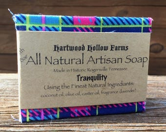 All Natural Artisan Soap (Tranquility) Handcrafted in Historic Rogersville Tennessee