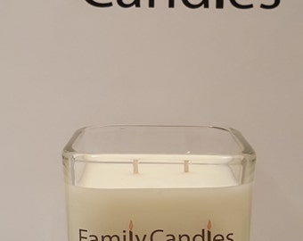Family Candles - Tommy 7.5 oz Double WIcked Soy Candle