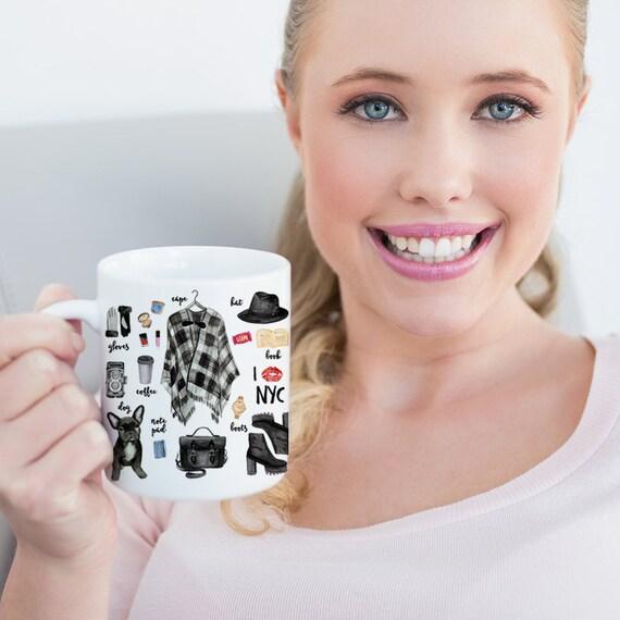 Coffee Mug New York City Fashion Coffee Cup - NYC Cup - New York Fashion - New York Mug