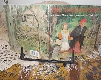 The Talking Egg By Robert D San Souci  1989 Vintage Childrens Book, Vintage Book, Children's Book /:) S