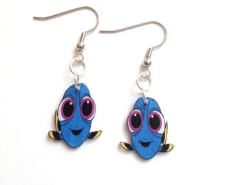 Finding Dory Baby Dory Earrings NOT OFFICIAL Gifts fo her gifts for girls dory18a