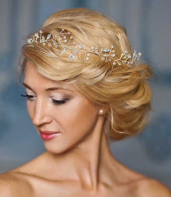Wedding Hairstyle With Crown