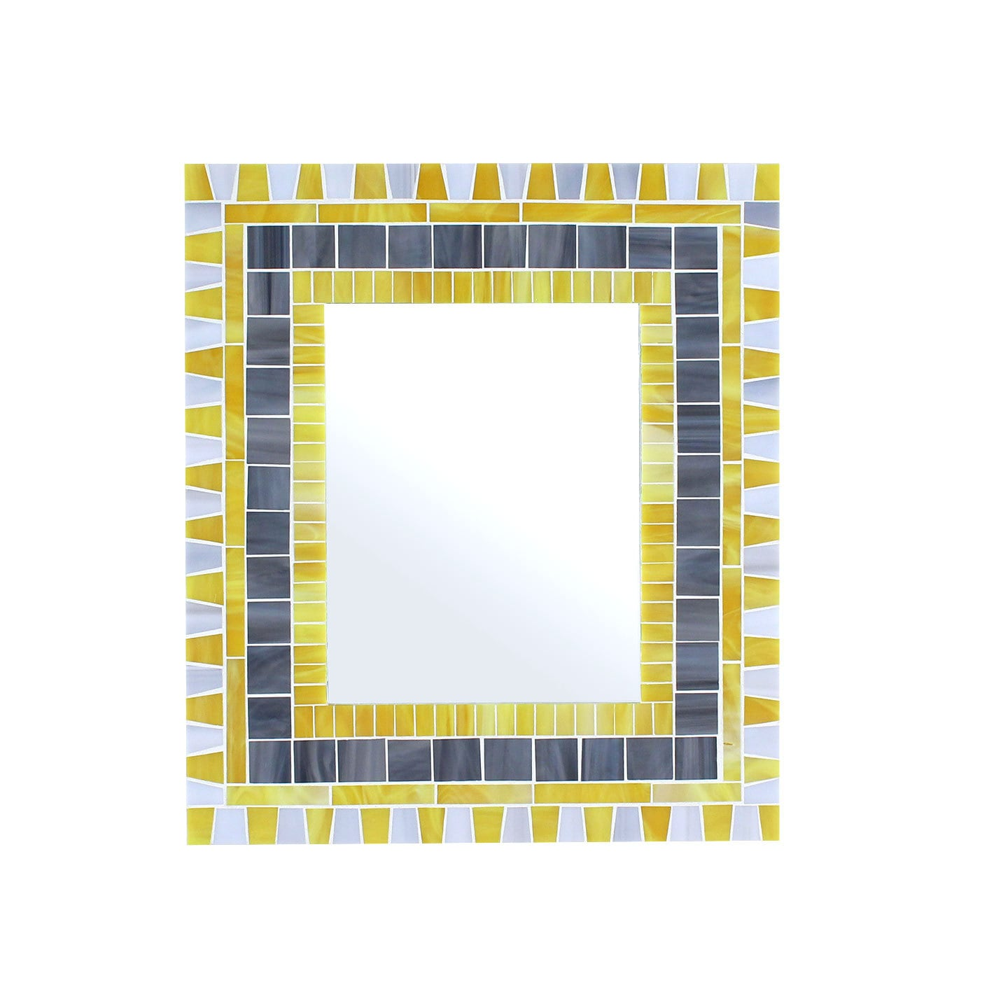 Ready to Ship 14x16 Decorative Mosaic Wall Mirror in