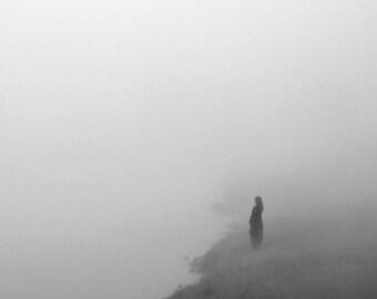 black and white photography, minimalist photography, minimalist art, moody photography, grey, mystery, minimal, minimalism, woman