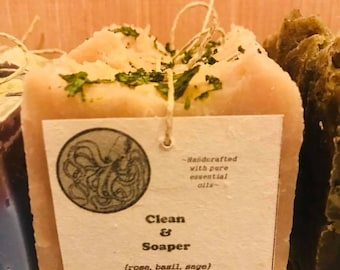 Handcrafted Soap. All Natural. Vegan.