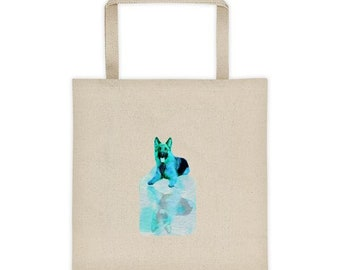German Shepherd Reflection Tote