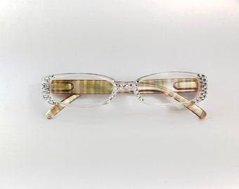Swarovski Crystal Clear Reading Glasses  +1.25 +1.50 +1.75 +2.00 +2.50 +3.00 +3.50 +4.00