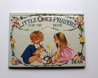 Little One's Prayers Pop-Up Book Illustrated By the Johnstone Sisters 1968