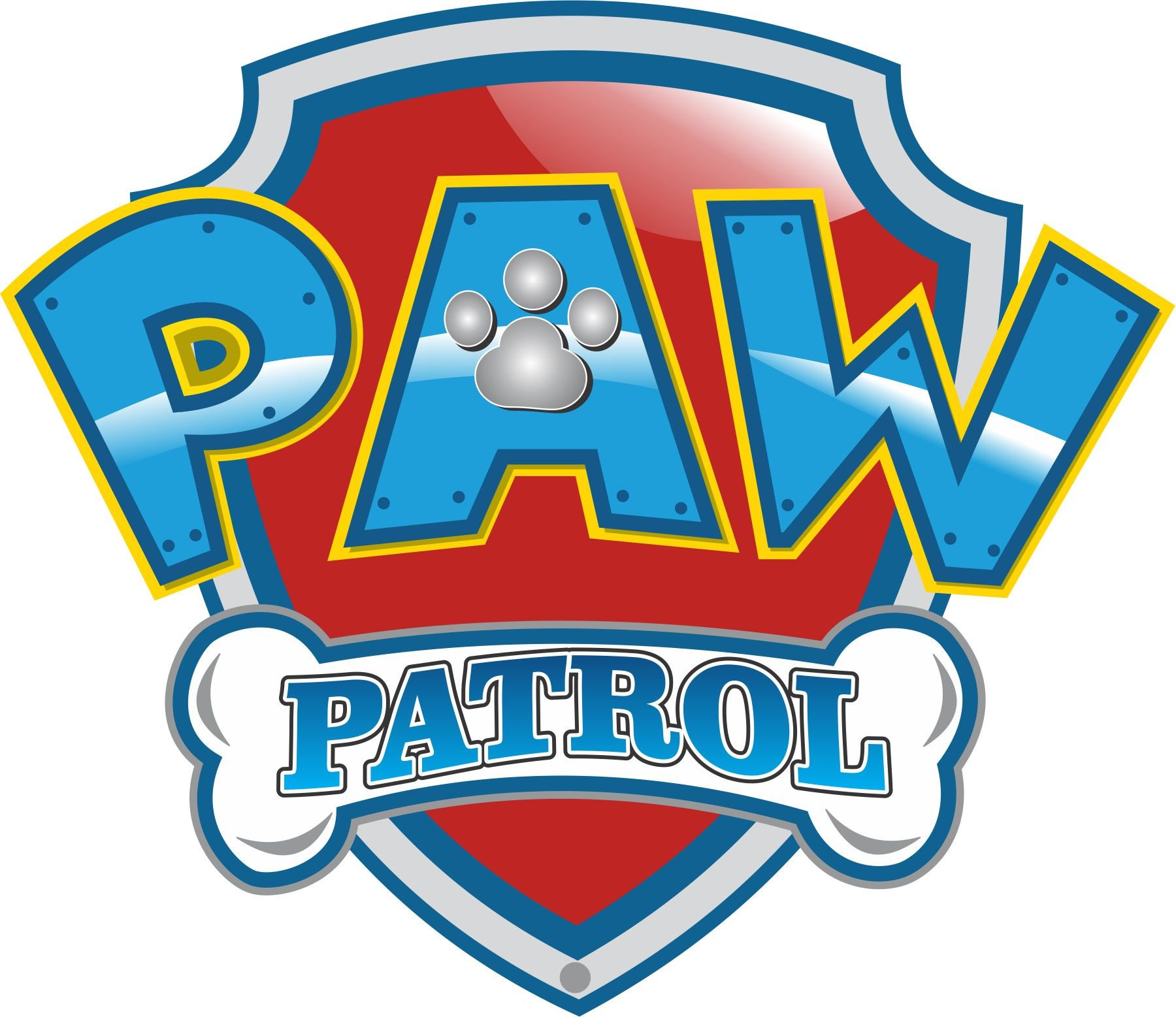 Obsessed image intended for paw patrol logo printable