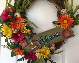 Beach Tiki Welcome