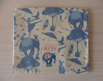 collection Circus life 50 cm x 55 cm blue Tilda fabric