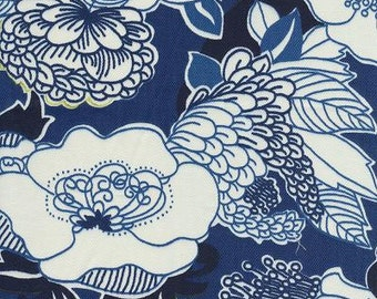 SALE!!!,Kiji Navy, By Duralee Fabric, Suburban Home, Fabric By The Yard