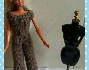 Barbie wide leg jumpsuit handmade design ( 24)