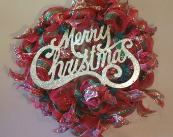 Christmas Wreath, Christmas Decor, Holiday Decor, Holiday Wreath