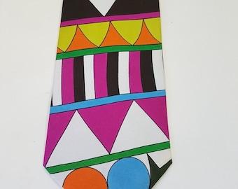 Emilio Pucci Tie - Vintage 70es - NEW