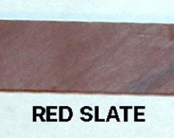 Miniature RED SLATE