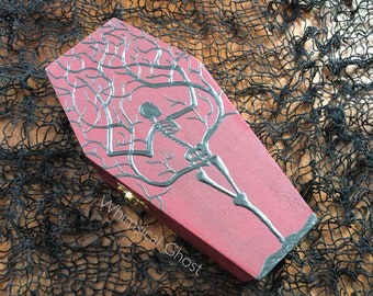 Coffin Box Skeleton Tree