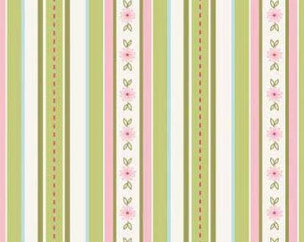 The Quilted Fish Fabric, Sweet Divinity by The Quilted Fish for Riley Blake Fabrics, C6104 Stripes in Cream