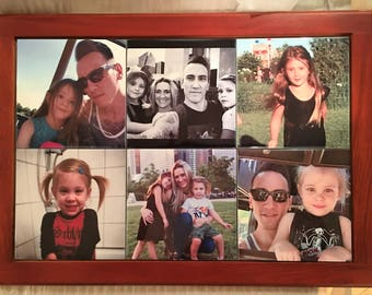 Personalized 12 X 18  Photo Tile Mural|Custom Wall Art|Photo Tile Art|Ceramic Photo Tiles|Home Decor