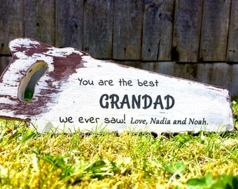 Best Dad/Grandad on MDF saw