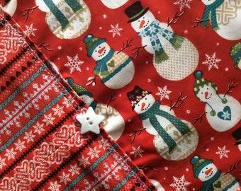 Christmas/Winter Table Runner - Snowmen