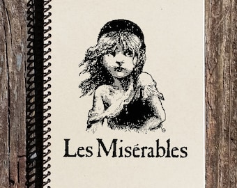 Les Miserables Journal - Les Miserables Logo - Les Miserables Notebook - Les Miserables Broadway