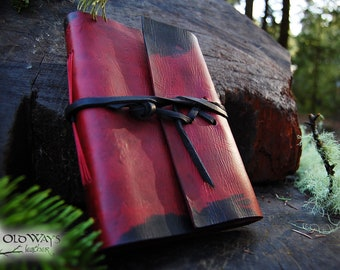 Red and black journal