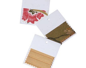 """Plankroad Home Decor Fabric by the Yard Sample Swatch 2.5"""" x 2.5"""""""