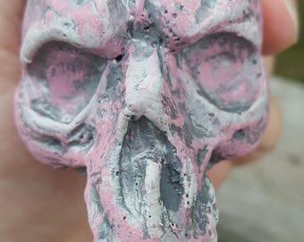 Skull sculptures.19 out of 19, monster skulls. halloween decor. resin figures. oddities.dark art. creepy sculptures. creature sculptures