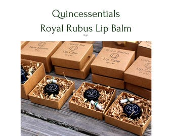 Royal Rubus Lip Care - 100% natural lip balm by Quincessentials