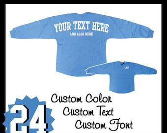 Pennant Custom Pom Pom Shirt / Personalized Billboard Jersey / Spirit Wear / Jersey / Gifts For Her