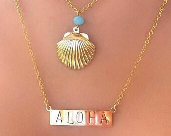 Aloha Sea Shell Necklace