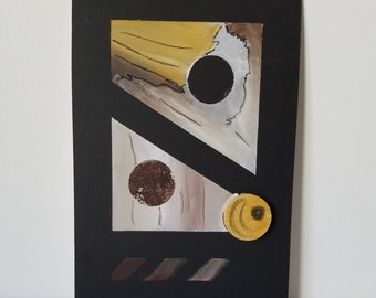 "Mixed Media Painting ""Texture 2"""