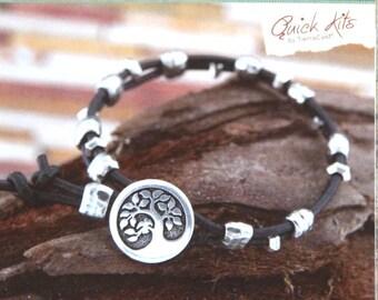 Between Earth & Sky Bracelet Kit, Do It Yourself Bracelet Kit, TierraCast Quick Kit, Bracelet Kit, Make it Yourself Bracelet