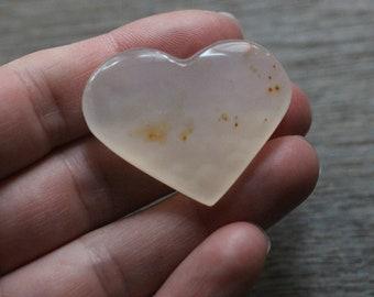 Agate Heart Shaped Stone #87781
