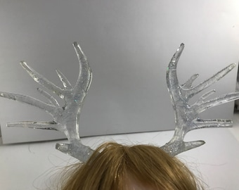 Clear Resin Antlers bjd SD