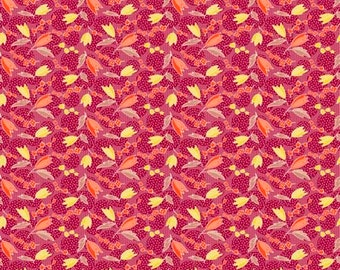 Denyse Schmidt PWDS144 Ludlow Crocus Dogwood Cotton Fabric By Yd