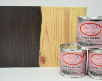 Dixie Belle Gel Stain, No Pain Gel Stain, Furniture Stain, Farmhouse Decor, Natural Wood Colors