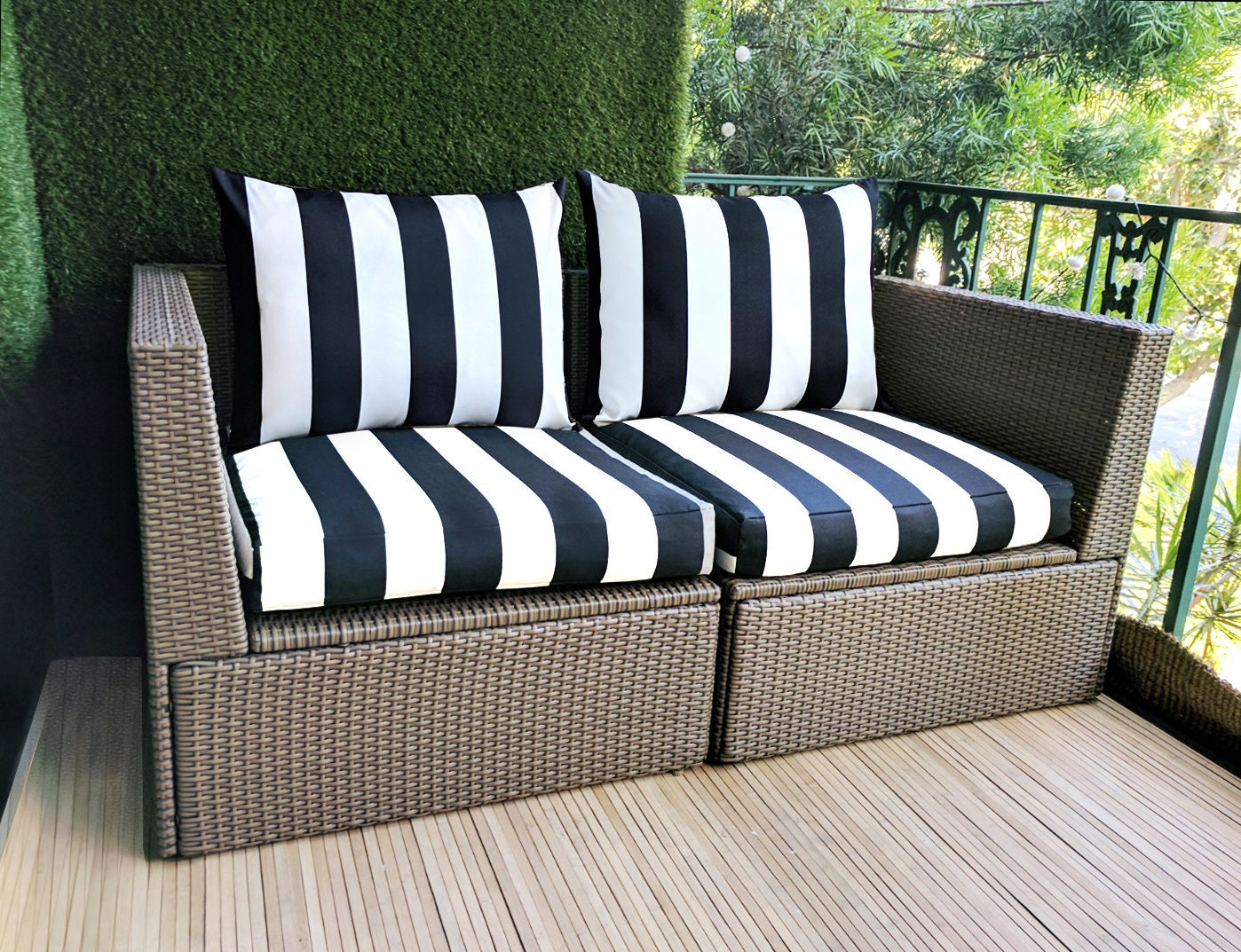 ikea hallo kungso outdoor slip cover ikea cushion covers. Black Bedroom Furniture Sets. Home Design Ideas