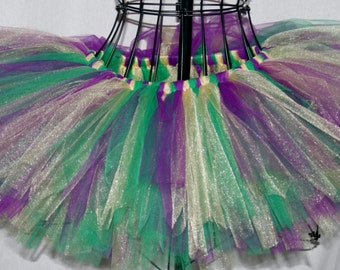 Mardi Gras Party Kids Tutu