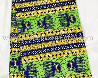 African Fabric SupremeWax/ African Prints/African Fabric/Crafts/African Clothing/ Ankara / Wax/ Holland Supreme sold by yard