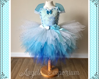 Reduced!!!! IMMEDIATE Dispatch Costume One size 3-4 years only. Unicorn Inspired Pixie Cut Tutu Dress. Sparkly Magical Dress Great Gift!