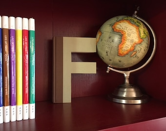 "Letter ""F"" Monogram Book ~ Bookshelf Decor ~ Great gift idea!"