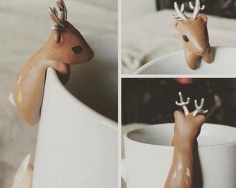 Deer tea buddy